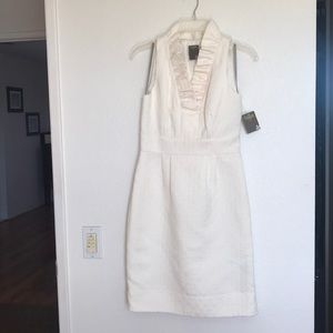 New and never worn - winter white cocktail dress